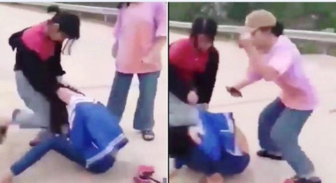 Nhóm nữ sinh đánh hội đồng bạn gây xôn xao bị triệu tập - Ảnh 1.