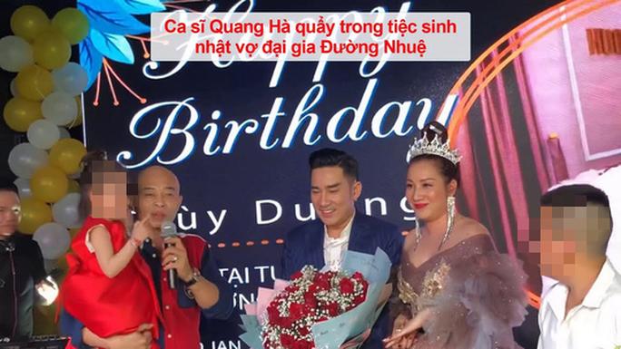 Vẫn xem Đường Nhuệ là anh em, ca sĩ Quang Hà gây bức xúc - Ảnh 2.