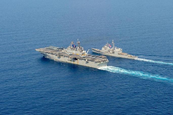 Úc điều tàu chiến đến biển Đông tập trận với Mỹ - Ảnh 2.