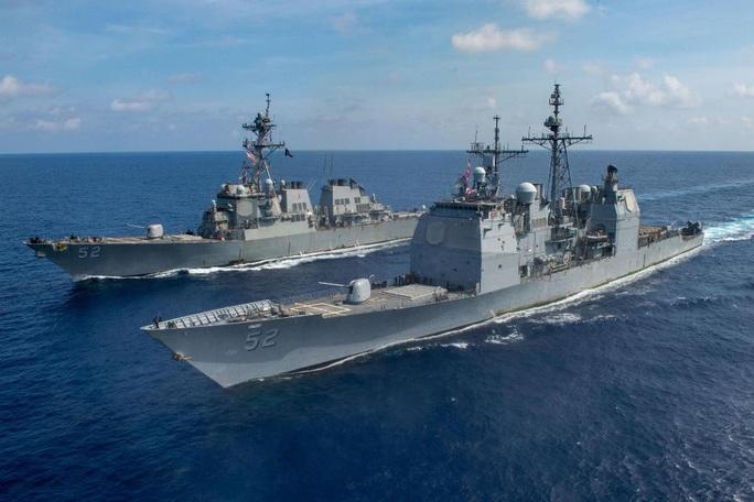 Úc điều tàu chiến đến biển Đông tập trận với Mỹ - Ảnh 3.