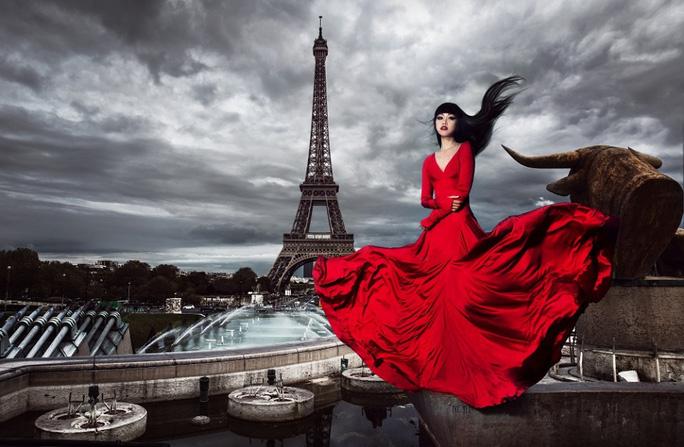 Siêu mẫu quốc tế Jessica Minh Anh phấn khích tham gia phim hành động 578: Phát đạn của kẻ điên - Ảnh 2.