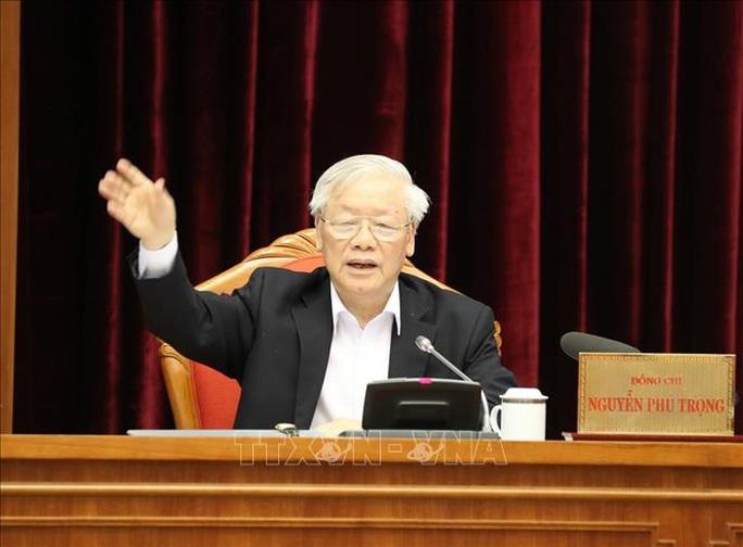 Chùm ảnh Tổng Bí thư, Chủ tịch nước Nguyễn Phú Trọng chủ trì Hội nghị cán bộ toàn quốc - Ảnh 1.