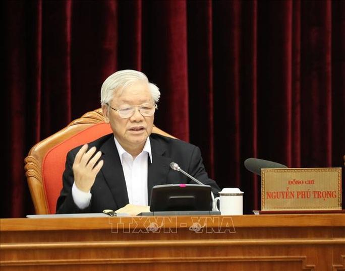 Chùm ảnh Tổng Bí thư, Chủ tịch nước Nguyễn Phú Trọng chủ trì Hội nghị cán bộ toàn quốc - Ảnh 2.
