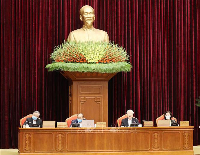Chùm ảnh Tổng Bí thư, Chủ tịch nước Nguyễn Phú Trọng chủ trì Hội nghị cán bộ toàn quốc - Ảnh 6.