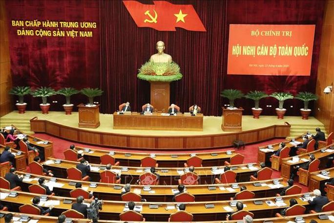 Chùm ảnh Tổng Bí thư, Chủ tịch nước Nguyễn Phú Trọng chủ trì Hội nghị cán bộ toàn quốc - Ảnh 7.