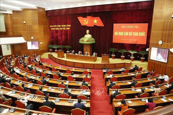 Chùm ảnh Tổng Bí thư, Chủ tịch nước Nguyễn Phú Trọng chủ trì Hội nghị cán bộ toàn quốc - Ảnh 8.