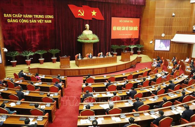 Chùm ảnh Tổng Bí thư, Chủ tịch nước Nguyễn Phú Trọng chủ trì Hội nghị cán bộ toàn quốc - Ảnh 9.