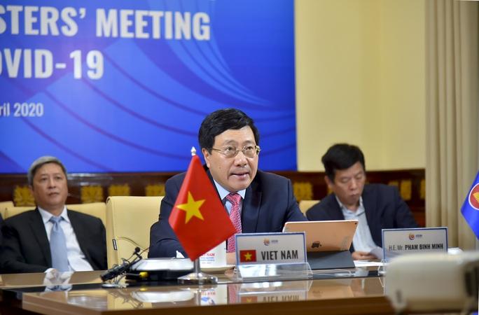 Ngoại trưởng ASEAN-Mỹ: Cần duy trì trật tự khu vực dựa trên luật lệ - Ảnh 1.