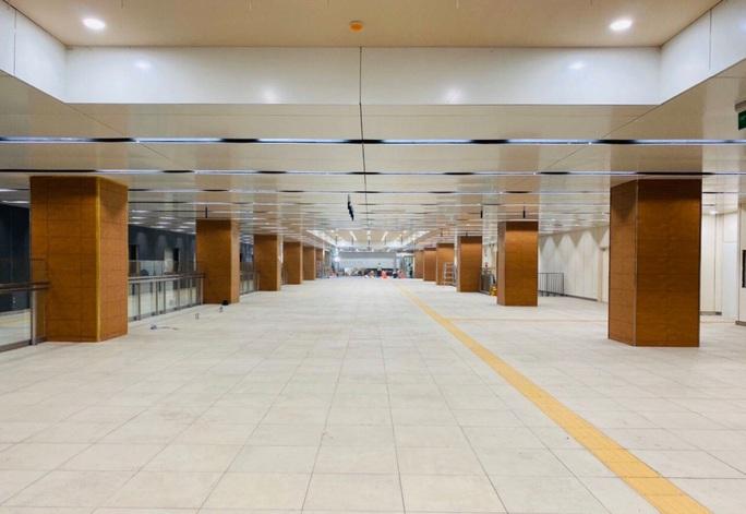 Tuyến metro Bến Thành - Suối Tiên: Diện mạo mới ga Nhà hát TP - Ảnh 3.