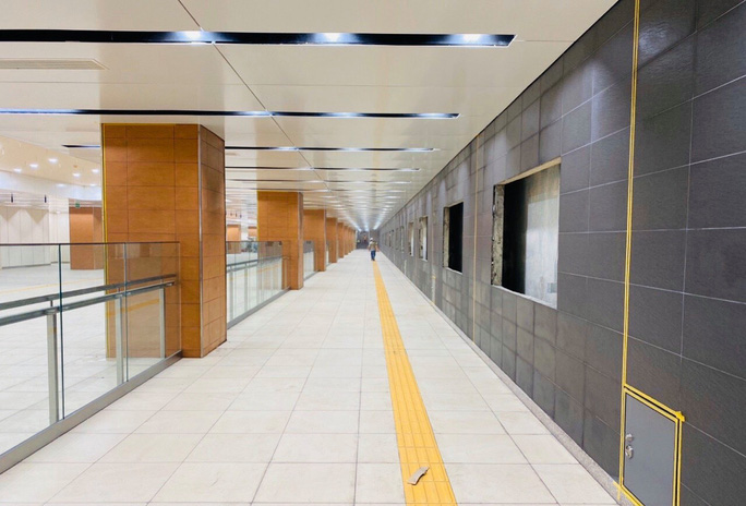 Tuyến metro Bến Thành - Suối Tiên: Diện mạo mới ga Nhà hát TP - Ảnh 4.
