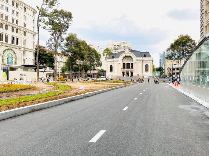 Tuyến metro Bến Thành - Suối Tiên: Diện mạo mới ga Nhà hát TP - Ảnh 1.