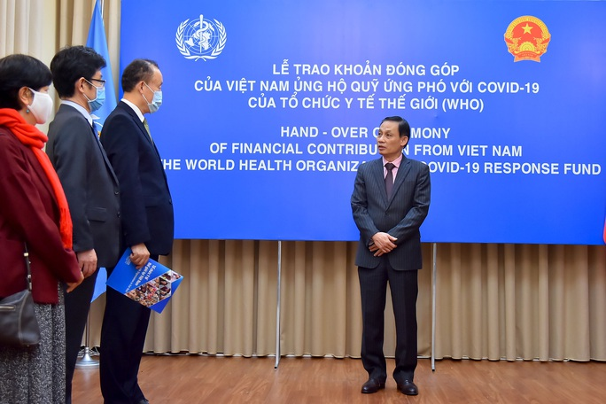 Việt Nam ủng hộ 50.000 USD cho quỹ ứng phó với Covid-19 của WHO - Ảnh 3.