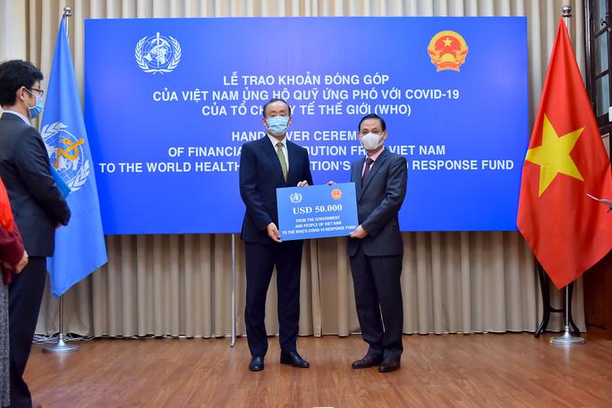 Việt Nam ủng hộ 50.000 USD cho quỹ ứng phó với Covid-19 của WHO - Ảnh 2.