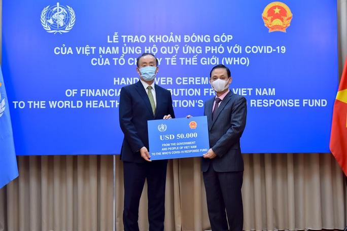 Việt Nam ủng hộ 50.000 USD cho quỹ ứng phó với Covid-19 của WHO - Ảnh 1.