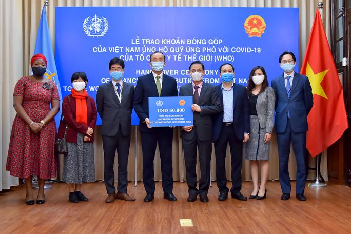 Việt Nam ủng hộ 50.000 USD cho quỹ ứng phó với Covid-19 của WHO - Ảnh 5.