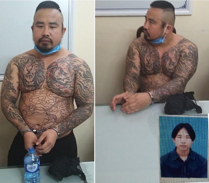 Giết người ở Nghệ An, đối tượng xăm trổ đầy mình bị bắt giữ tại Hà Nội sau 11 năm - Ảnh 1.