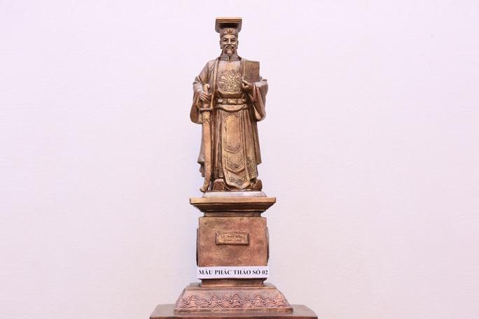 Ngành toà án dựng tượng vua Lý Thái Tông làm biểu tượng công lý - Ảnh 1.