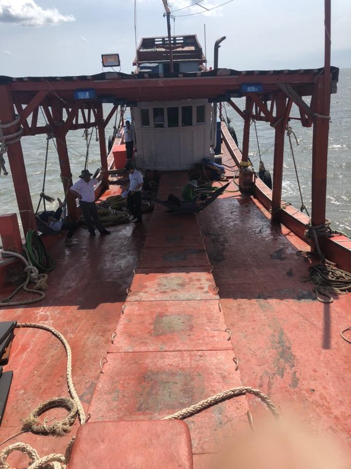 """Chi cục Thủy sản Cà Mau vén màn """"bí mật"""" bên trong 9 khoang của tàu cá - Ảnh 4."""