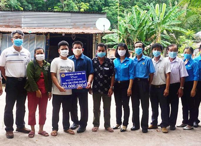 Tây Ninh: Giúp đoàn viên nghèo an cư - Ảnh 1.
