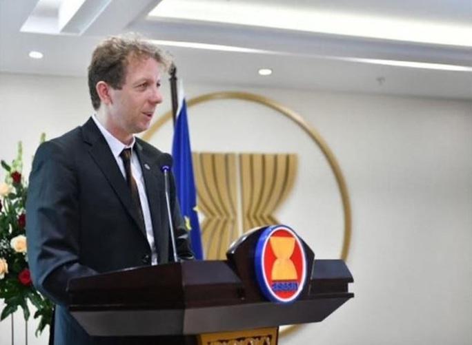 EU quan ngại Trung Quốc đơn phương áp đặt địa giới hành chính mới trên biển Đông - Ảnh 1.