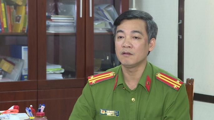 Chuyển công tác Phó Trưởng Công an TP Thái Bình Cao Giang Nam - Ảnh 1.