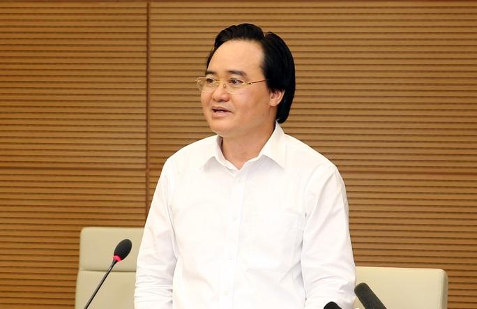 Bộ trưởng Phùng Xuân Nhạ: Tuyển sinh Đại học không gây hoang mang, lo lắng - Ảnh 1.