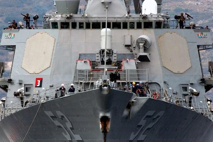 Tàu chiến Mỹ tuần tra hàng hải gần quần đảo Hoàng Sa - Ảnh 1.