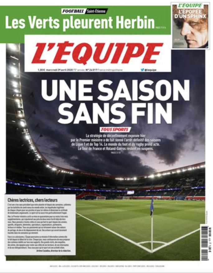 Chính thức: Ligue 1 bị hủy bỏ, PSG tan giấc mộng vô địch - Ảnh 2.