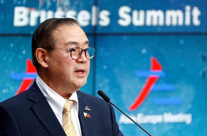 Bộ trưởng Philippines gửi thông điệp cứng rắn đến Trung Quốc - Ảnh 1.