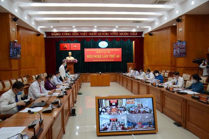 Thành ủy ra thông báo Hội nghị lần thứ 40 Ban Chấp hành Đảng bộ TP HCM khóa X - Ảnh 1.