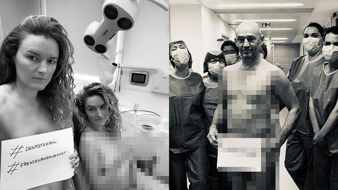 Nha sĩ Pháp chụp ảnh khỏa thân yêu cầu cung cấp thiết bị bảo hộ - Ảnh 1.