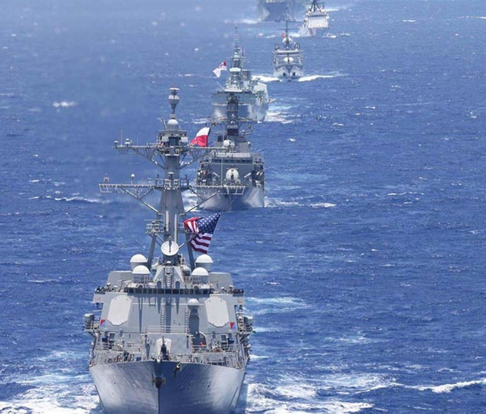 Tập trận hải quân lớn nhất thế giới RIMPAC 2020 và ẩn số Trung Quốc - Ảnh 1.