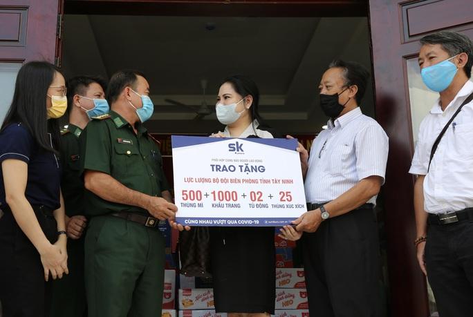 Công ty CP Đầu tư SK đồng hành cùng Báo Người Lao Động chung tay phòng, chống dịch Covid-19 - Ảnh 6.