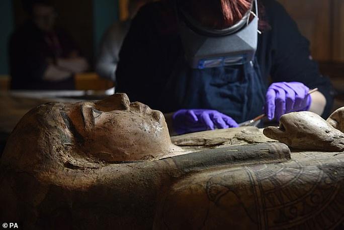 Ra khỏi quan tài 3.000 năm, công chúa Ai Cập để lộ bức chân dung bí ẩn - Ảnh 1.