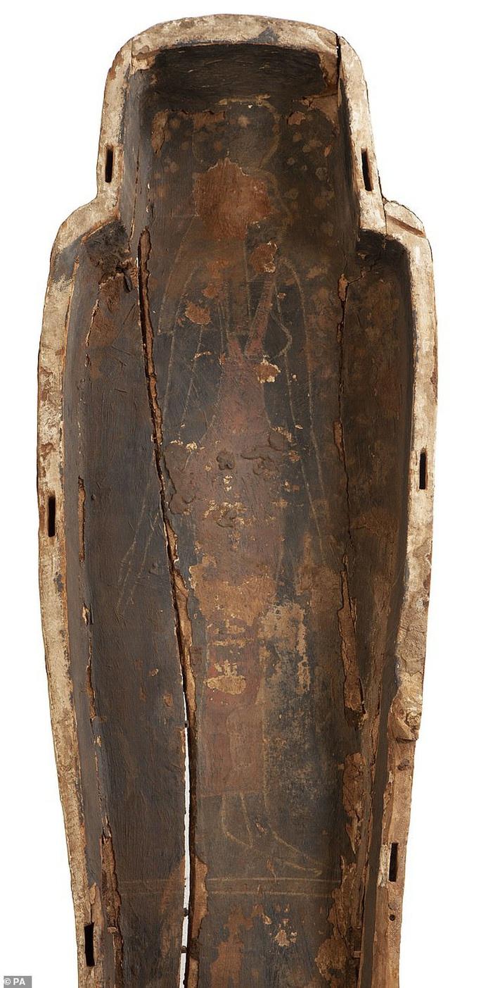 Ra khỏi quan tài 3.000 năm, công chúa Ai Cập để lộ bức chân dung bí ẩn - Ảnh 2.