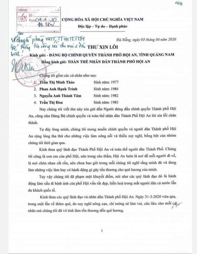 Người nhà ông Phan Văn Anh Vũ xin lỗi, nói chụp ảnh cái bang để câu like - Ảnh 1.