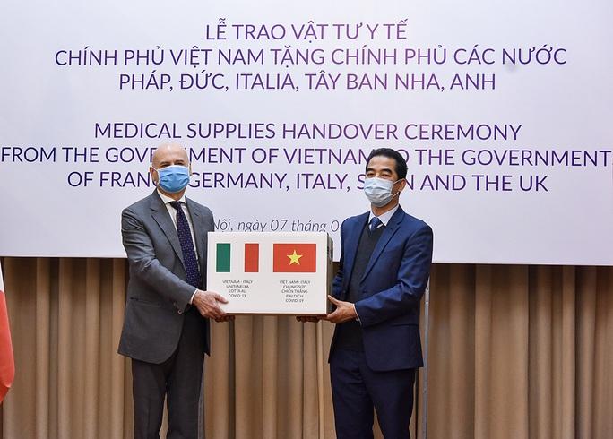 Trao 550.000 khẩu trang kháng khuẩn hỗ trợ các nước châu Âu phòng chống dịch Covid-19 - Ảnh 4.