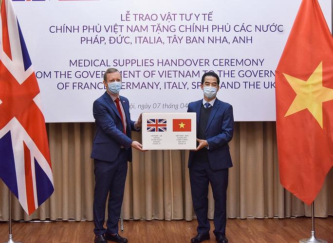 Trao 550.000 khẩu trang kháng khuẩn hỗ trợ các nước châu Âu phòng chống dịch Covid-19 - Ảnh 5.