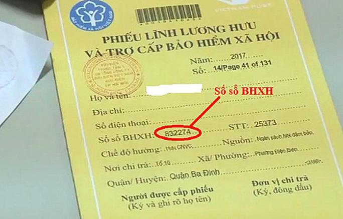 3 cách đăng ký nhận lương hưu, trợ cấp BHXH tháng 4, 5 tại nhà - Ảnh 3.