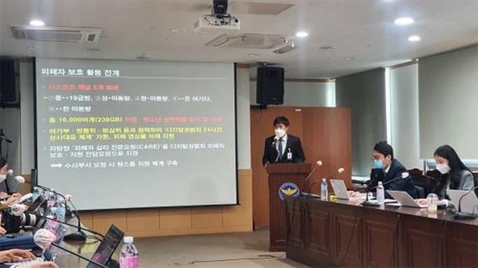 Cảnh sát Hàn Quốc bắt 8 trẻ vị thành niên điều hành phòng chat sex - Ảnh 1.