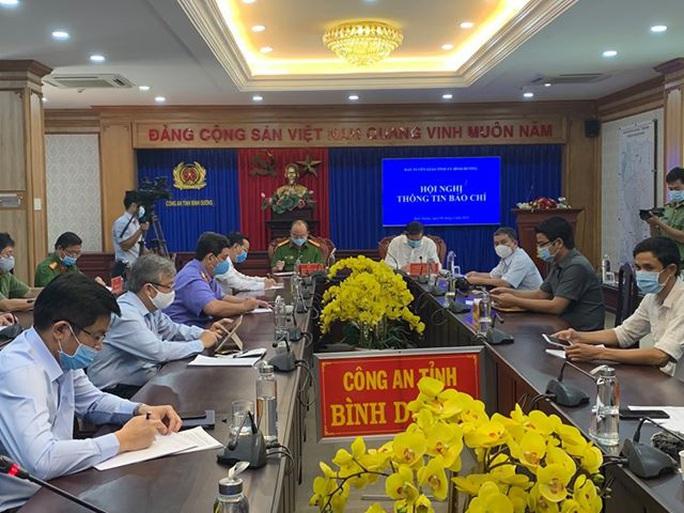 Tỉnh ủy Bình Dương tổ chức họp báo vụ 43 ha đất vàng ở TP Thủ Dầu Một - Ảnh 1.