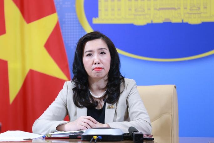Người phát ngôn Bộ Ngoại giao trả lời câu hỏi khả năng kiện Trung Quốc về vấn đề Biển Đông - Ảnh 1.
