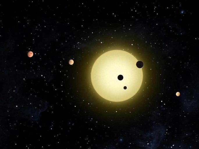 Phát hiện trái đất nhảy múa khổng lồ bên 4 hành tinh khí - Ảnh 1.
