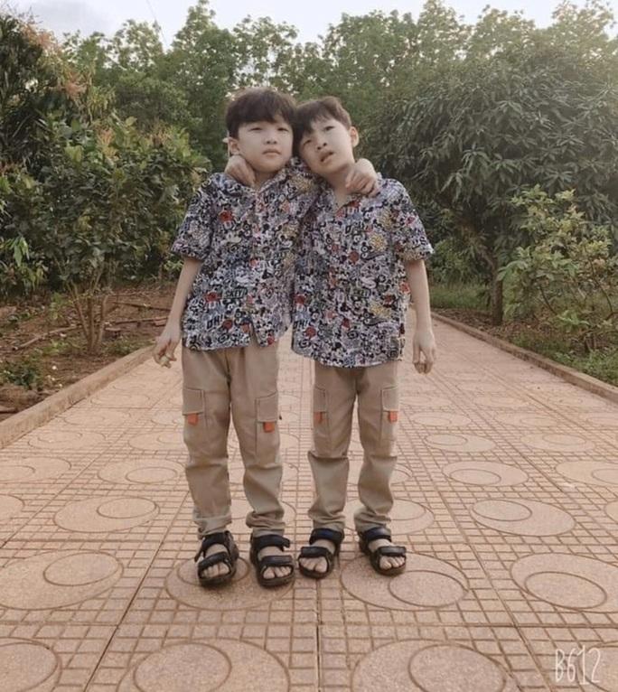 Đã tìm thấy hai bé sinh đôi nghi bị bắt cóc ở Bình Phước - Ảnh 2.