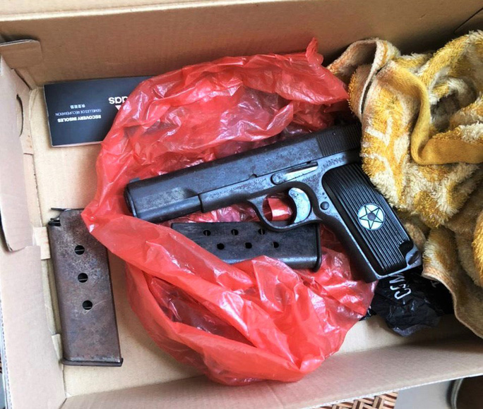 Đà Nẵng: Phát hiện súng quân dụng tại nơi ở của đối tượng trộm cắp - Ảnh 2.