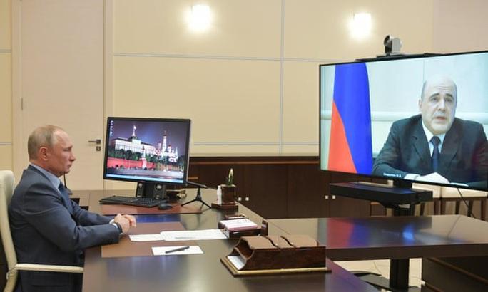 Thủ tướng Nga mắc Covid-19 - Ảnh 1.
