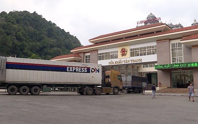 Trung Quốc khôi phục thông quan tại chợ biên giới Tân Thanh - Pò Chài sớm hơn dự kiến - Ảnh 1.