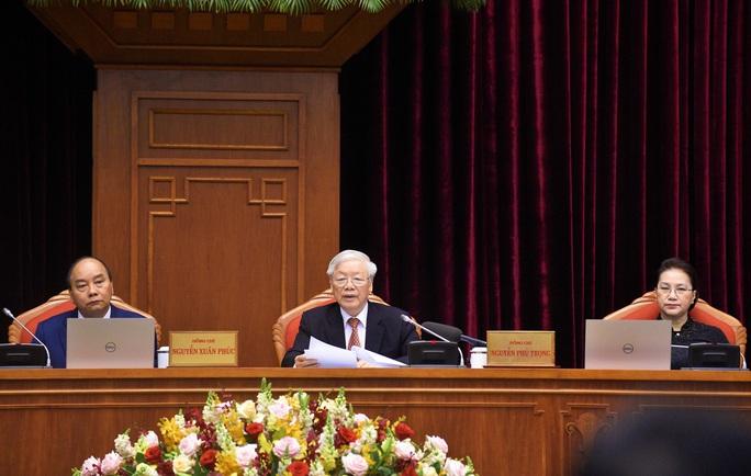Chùm ảnh khai mạc Hội nghị Trung ương 12 - Ảnh 4.