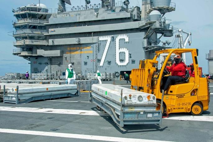 Tung đồng loạt 6 tàu sân bay, Mỹ cảnh báo đừng lầm tưởng đánh bại được Mỹ - Ảnh 5.