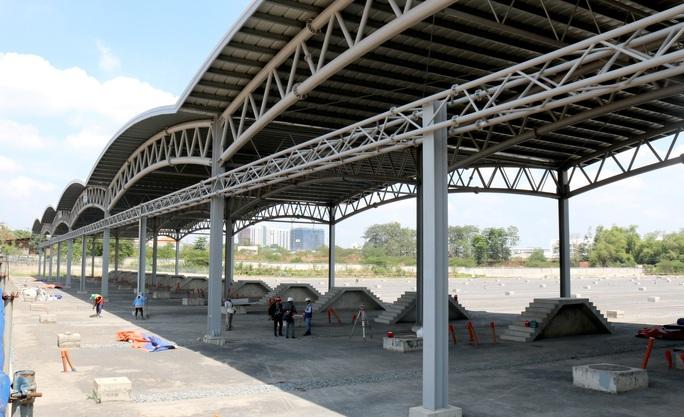 Cận cảnh Depot và ga trên cao tuyến metro Bến Thành - Suối Tiên - Ảnh 4.